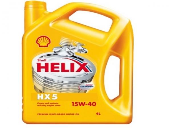 Olej motorový SHELL Helix HX5 15W-40 4l