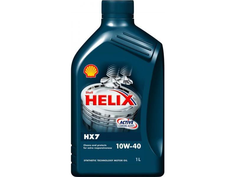 Olej motorový SHELL Helix HX7 10W40 1l