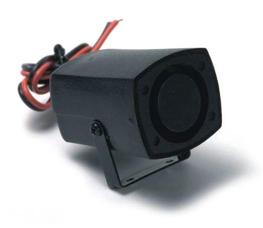 Alarm couvací 12V černý