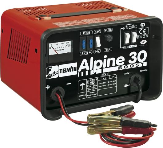 Nabíječka autobaterií TELWIN ALPINE 30